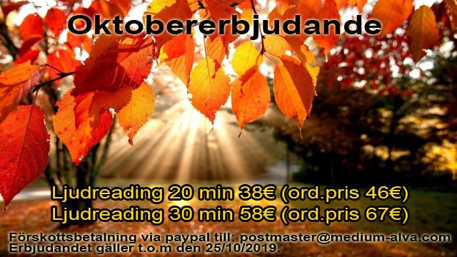 OktobererbjudandeLjudreadings2019