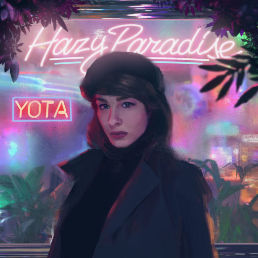 hazy paradise official cover